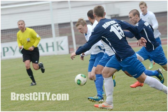 Футбол. Динамо-Брест - Днепр-Могилев 01.11.2014