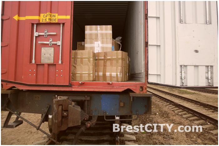 Контрабанда сигарет в поезде Брест-Малашевичи