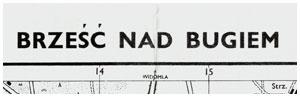 Брест-над-Бугом - так назывался Брест при Польше