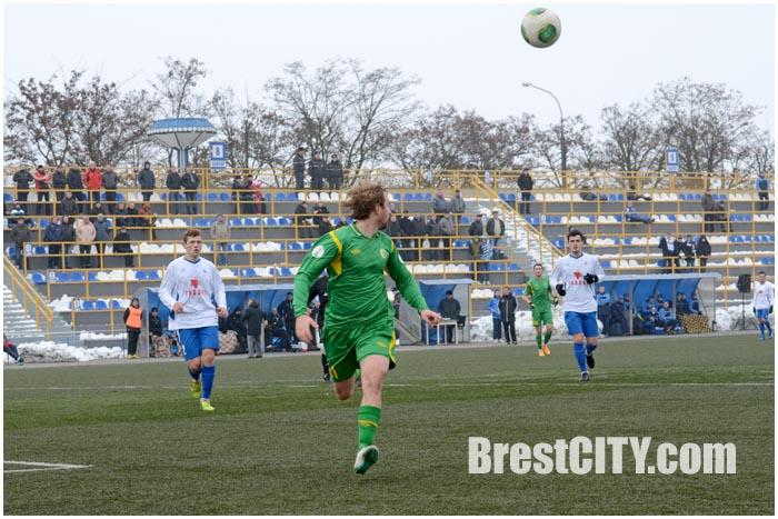 Футбол в Бресте. Динамо - Неман Гродно