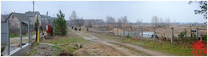 Очистные сооружения строят рядом с дачами