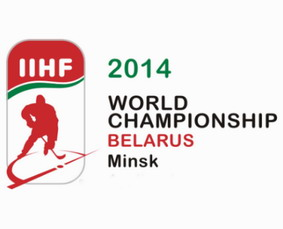 Логотип чемпионата мира по хоккею в Минске 2014