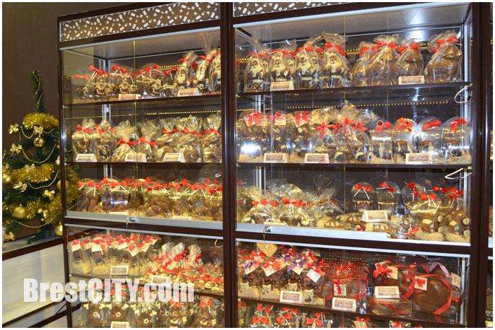 Бутик шоколадных изделий открылся в Бресте