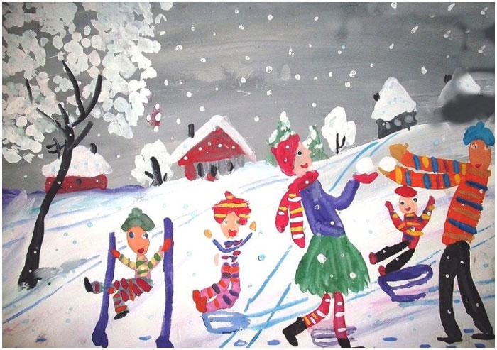 Чудеса зимы. Выставка в торговом центре Галерея Гранд