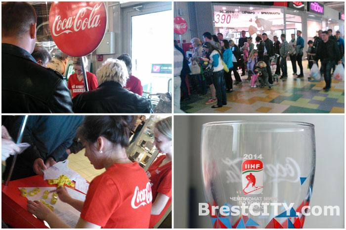 В Бресте очереди за стаканами кока-колы