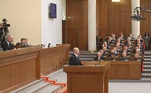 С посланием к белорусскому народу и