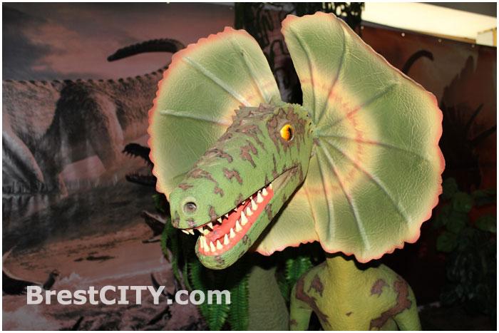 Выставка динозавров в ДК Профсоюзов