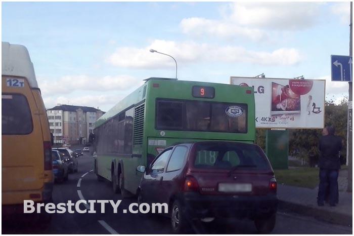 ДТП в Бресте на улице Ленина 27 сентября 2014