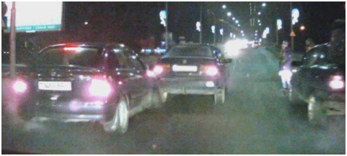 Авария в Бресте 16 января при подъеме на Кобринский мост