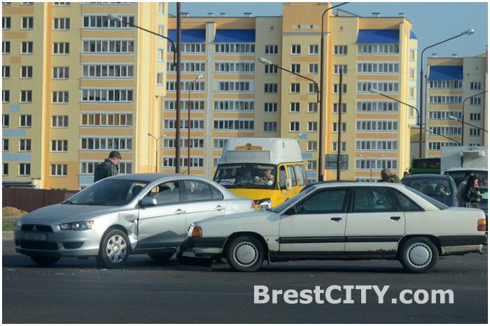Авария в Бресте на Варшавке 2 мая