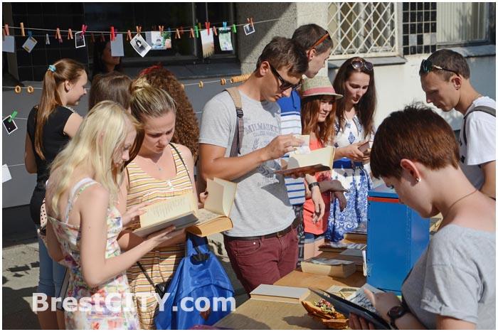 Обмен книгами и фотосушка в Бресте. 03.08.2014