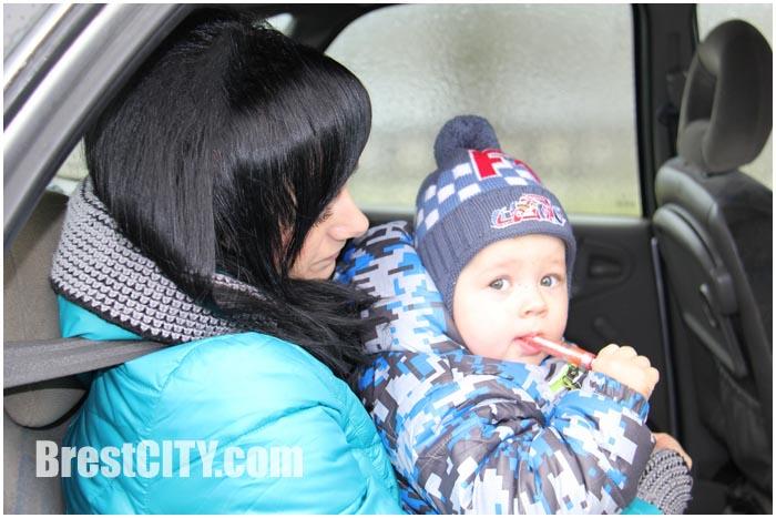Акция ГАИ по проверки перевозки детей