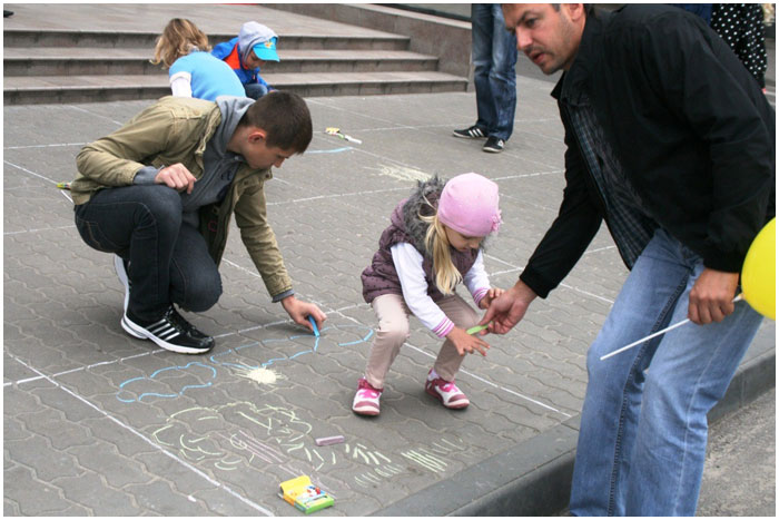 День защиты детей в Галерее гранд. Брест. 1 июня 2014