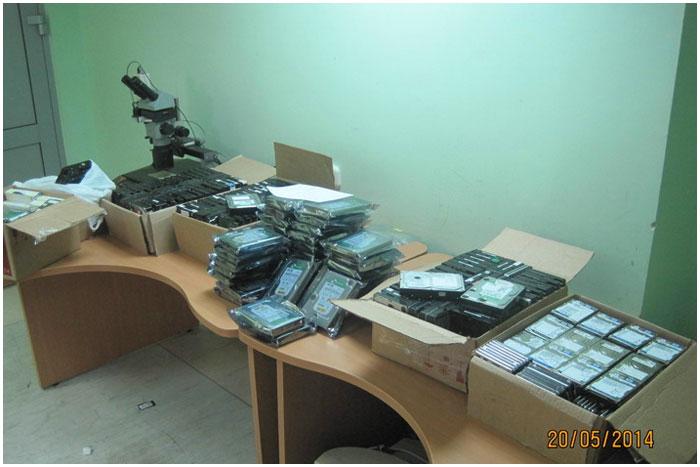 Около 500 винчестеров для компьютера пытались перевезти из Польши в Беларусь