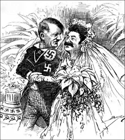 Английская карикатура 1939 года
