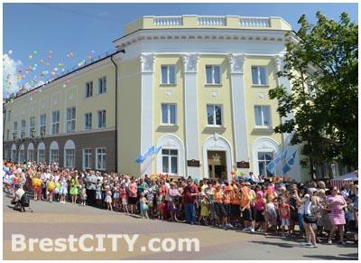 Новое здание хореографической школы в Бресте
