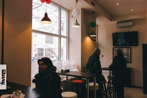 Кафе мистер Снэк в Бресте на Советской