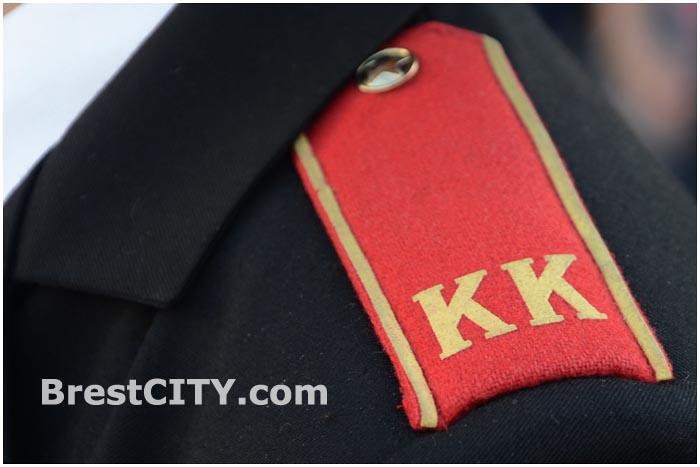 Мероприятие в СШ№35, посвящённое принятию Клятвы кадет и презентации экспонатов военной техники.