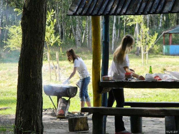 Пикник в районе деревни Косичи