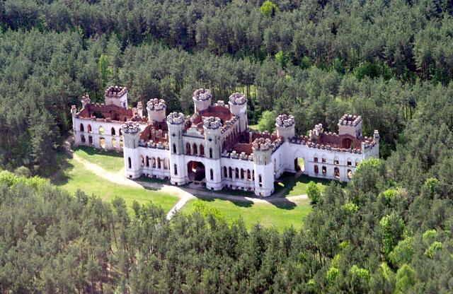 Замок в Коссово, Брестская область, Ивацевичский район