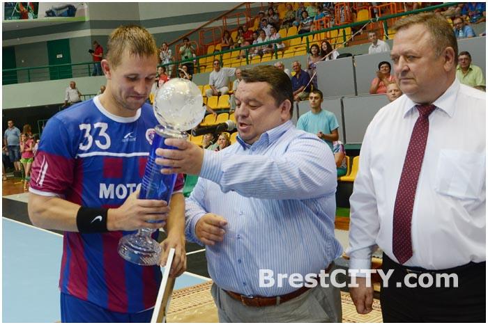 Кубок Белгазпромбанка 2014 в Бресте. Мотор - БГК имени Мешкова
