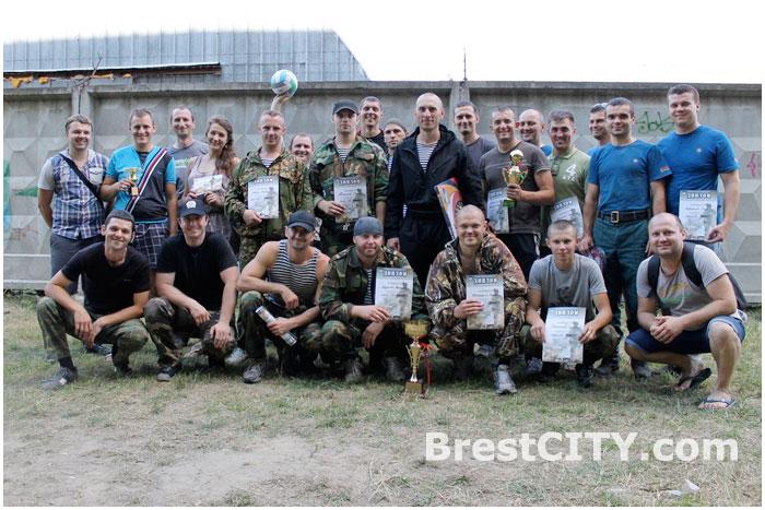 Соревнования по лазертагу прошли в Бресте 19 июня