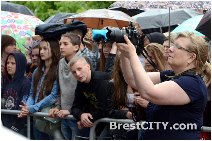 Молодежный марафон в Бресте на улице Советской 13 июня