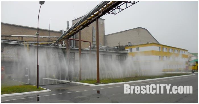 Учения МЧС на мясокомбинате в Бресте