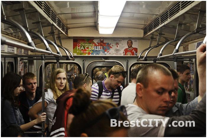 Вагон минского метро