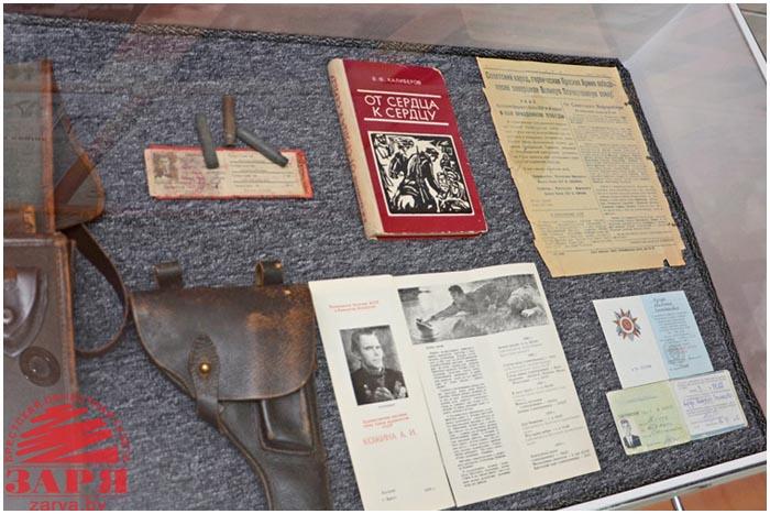 Музей Зари в Бресте. Старые газеты, экспонаты