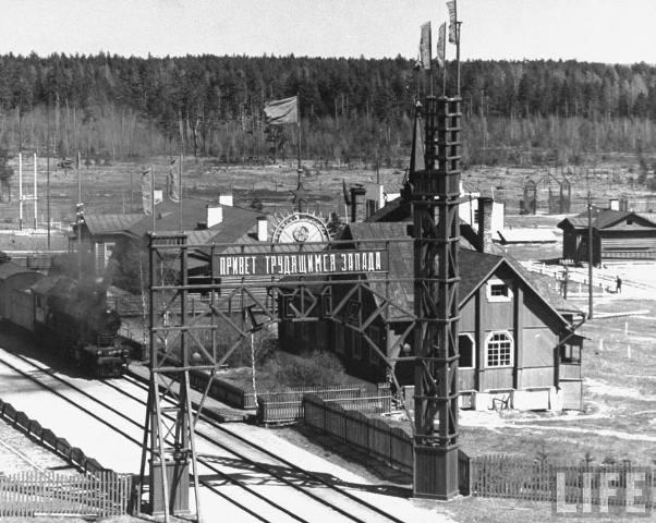 Пограничная железнодорожная станция Негорелое