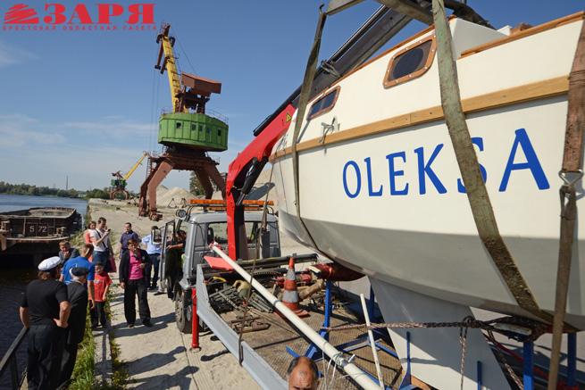 Яхта ОЛЕКСА. Дмитрий Суярков. Брест