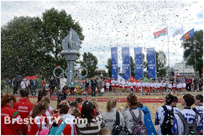 Международный Олимпийски день в Бресте. 23.06.2014