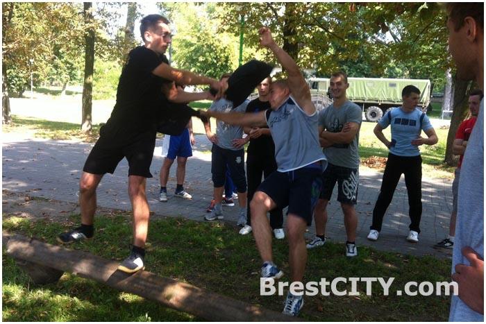 Соревнования в Брестском парке