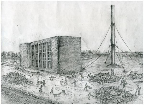 ТЭЦ после восстановления. 1948