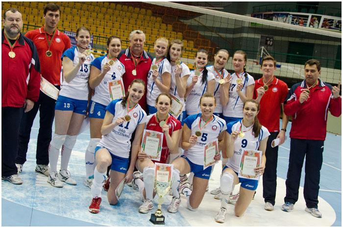 Брестская женская волейбольная команда