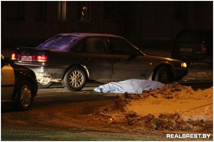 В Бресте на пешеходном переходе насмерть сбили человека
