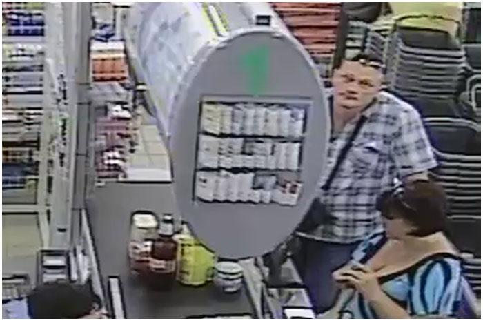 Разыскиваются мужчина и женщина, укравшие в магазине кошелек