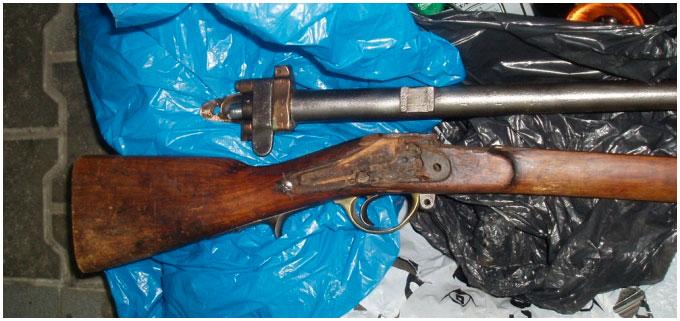 Станинное ружье обнаружено на границе в Бресте
