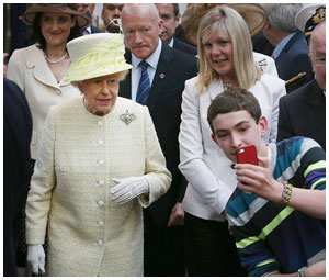Сэлфи с английской королевой