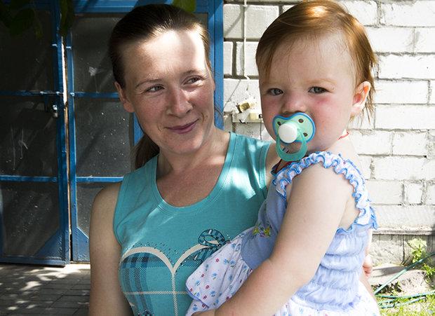 Семья из Донбасса переехала жить в Брестскую область. Жабинка