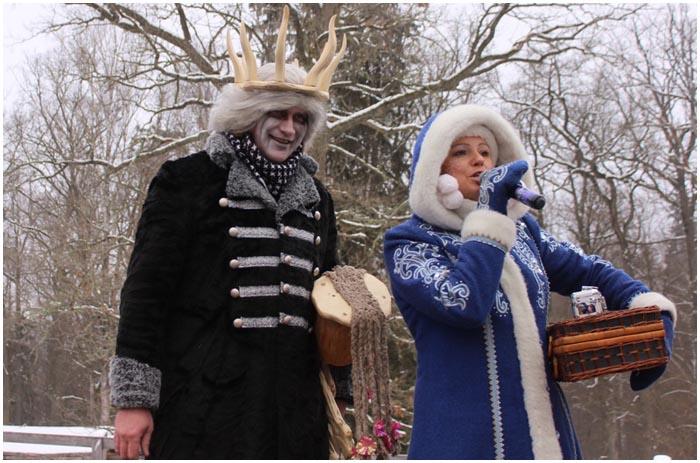 Поместье Деда Мороза. Вернулась Снегурочка и Матушка Зима
