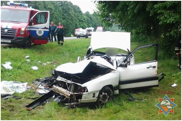 Авария возле деревни Страдечи 2 июня 2014