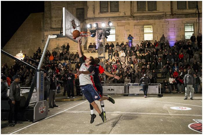 Соревнования по уличному баскетболу в Бресте