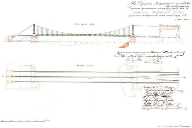 Проект Тереспольских ворот, 1854 г.