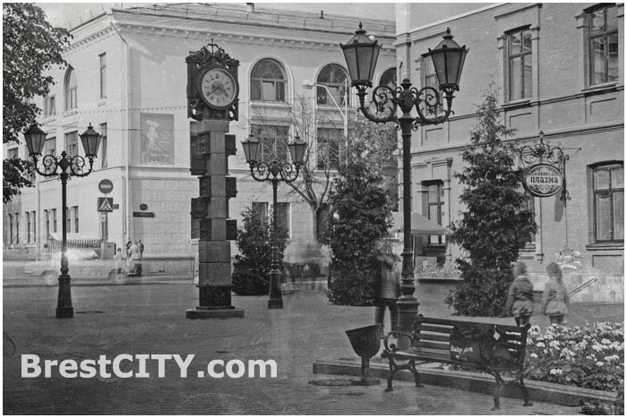 Улица Советская в Бресте.