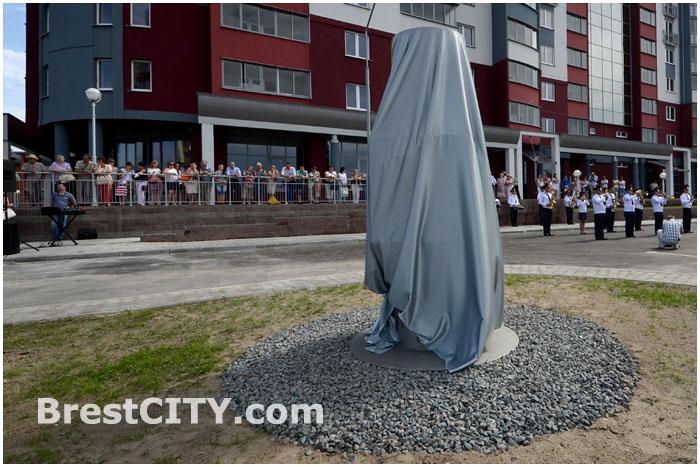 Памятный знак на месте бывшей деревни Тришин открыли в Бресте