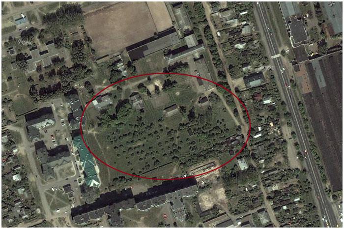 Сада возле брестской школы-интерната больше нет