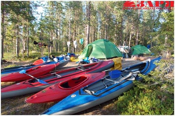 Речной туризм в Беларуси