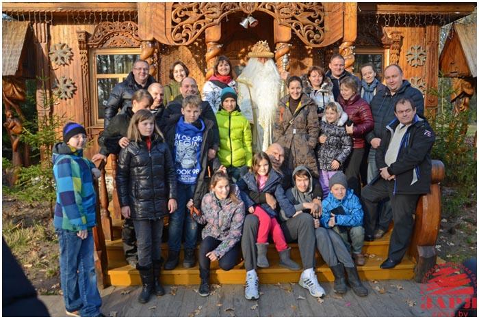 Николай Валуев посетил Беловежскую пущу